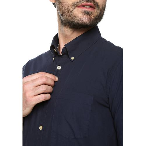 Camisa Manga Larga Jones - Azul