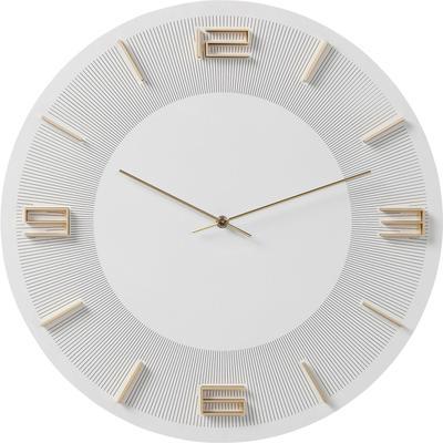 Reloj pared Leonardo blanco/oro