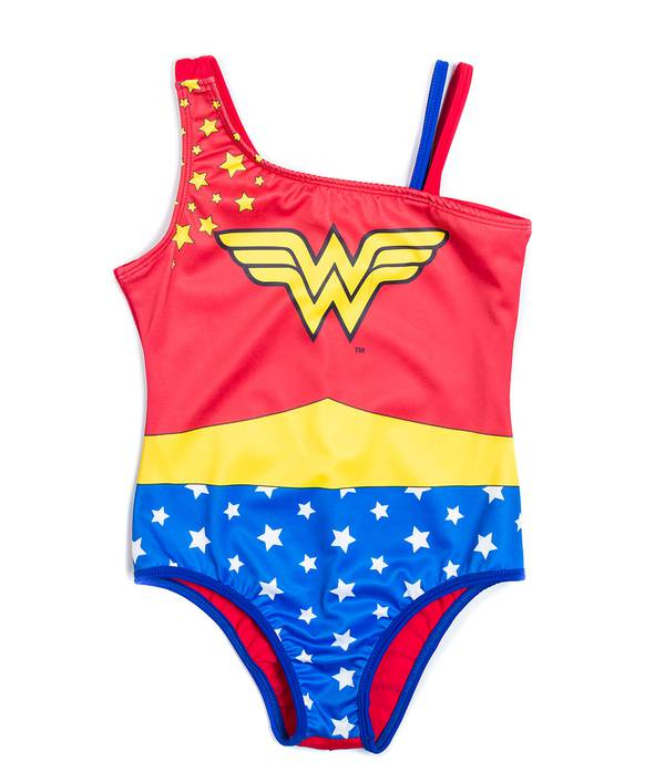 Vestido baño niña Wonder Woman