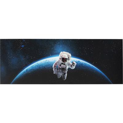 Cuadro cristal Man In Space 80x240cm