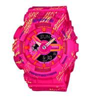 Reloj baby-g anadigi rosado-rosado X-4A