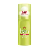 Ban Roll-On Antiperspirant Deodorant Regular 44 Ml