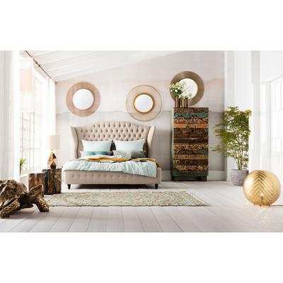 Cama City Spirit lino natural 180x200cm