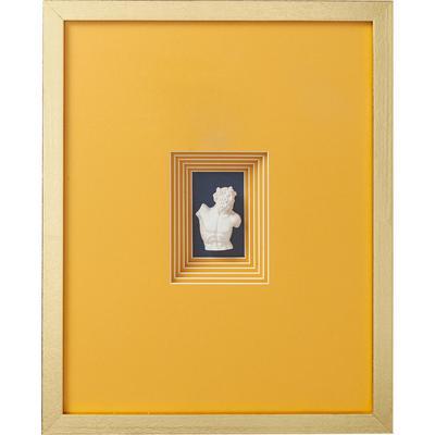 Cuadro Ancient Bust naranja 4 - 50x40cm