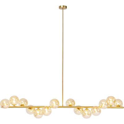 Lámpara Scala Balls latón 150cm