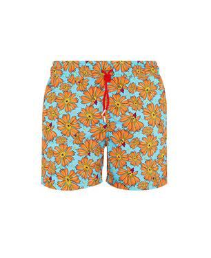Pantaloneta Kupang Azul Naranja