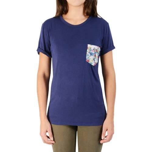 Camiseta Color Siete para Mujer - Azul