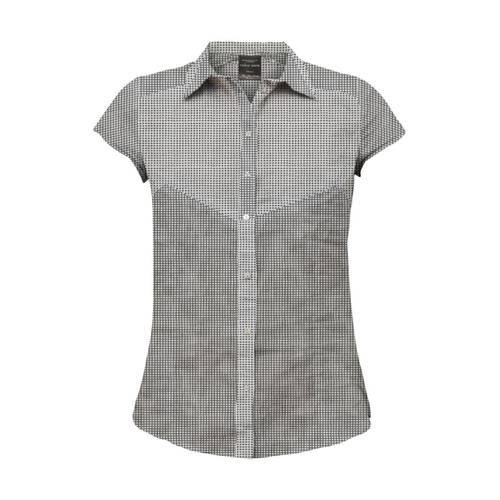 Camisa Color Siete para Mujer - Gris