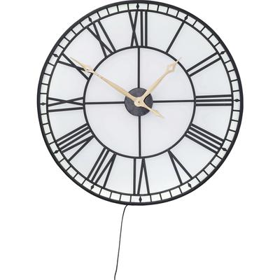 Reloj pared Factory LED Ø80cm