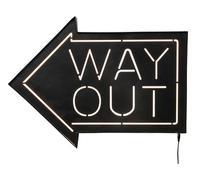 Objeto luminoso Way Out Wall LED
