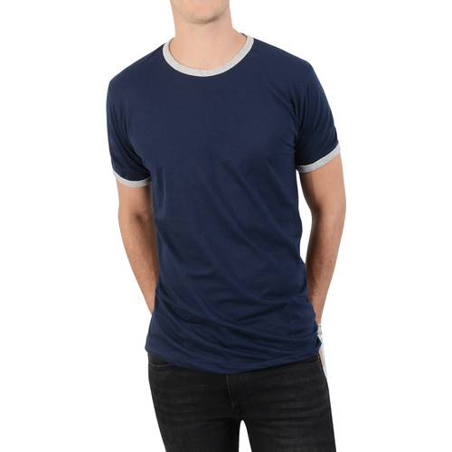 Camiseta en Contraste Korbel Rose Pistol para Hombre - Azul