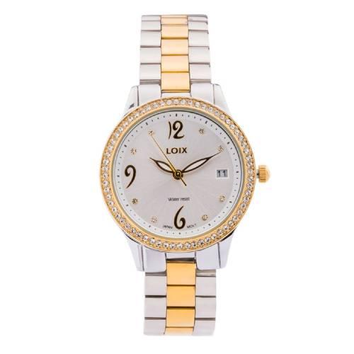 Reloj Blanco - Plateado - L1152-03