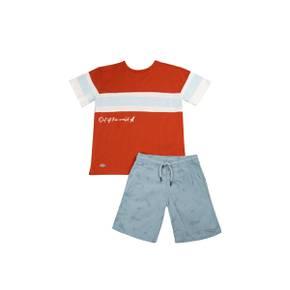 Conjunto bermuda-camiseta manga corta Little Boy