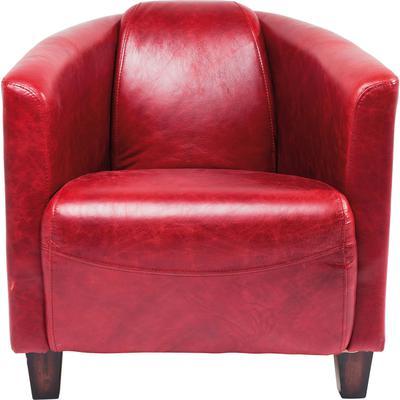 Sillón Cigar Lounge rojo