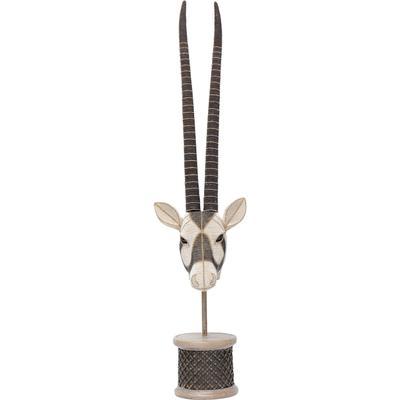 Objeto decorativo Antelope Head Pearls