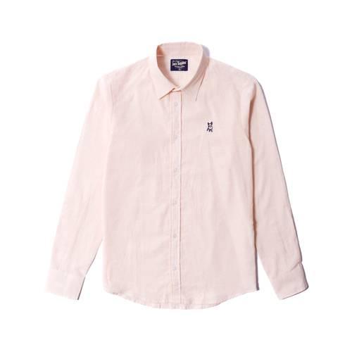 Camisa Manga Larga Jack Supplies Para Hombre - Naranja
