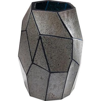 Vasija Stone gris mediano