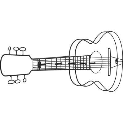 Perchero pared Guitar 81cm