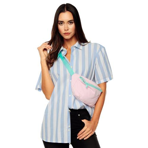 Camisa Manga Corta La Jolla Rosé Pistol