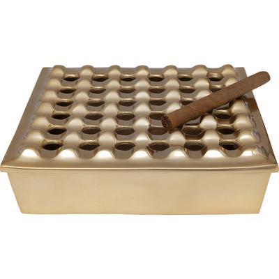 Cenicero Soho Square Brass 25x25cm