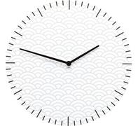 Reloj de pared Clouds blanco Ø36cm
