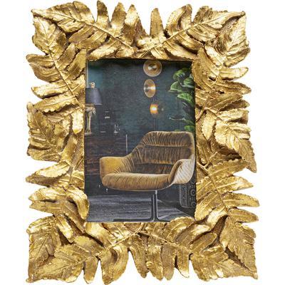 Portaretratos Gold Leaves 20x24cm