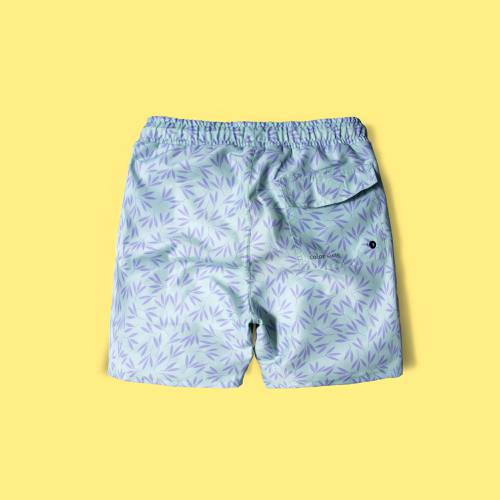 Pantaloneta Color Siete Para Hombre  - Verde