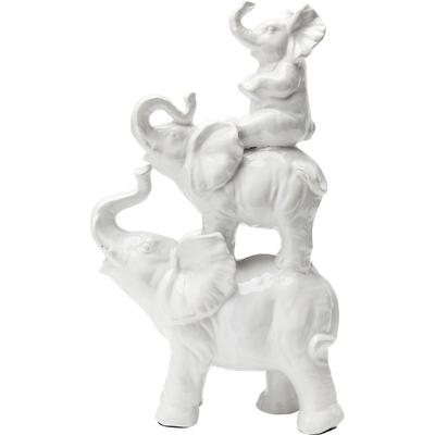 Objeto decorativo Elephant Family 46cm