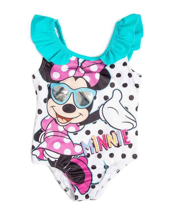 Vestido Baño Entero Caminadora Minnie
