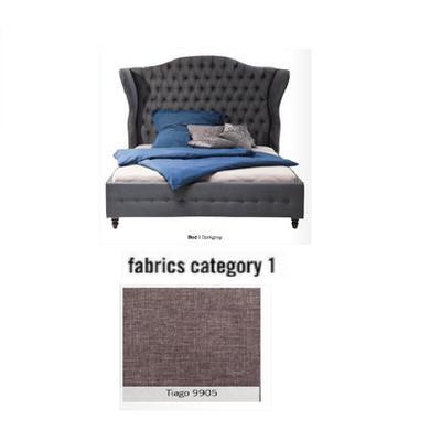 Cama City Spirit, tela 1 - Tiago  9905, (120x156x260cms), 140x200cm (no incluye colchón)