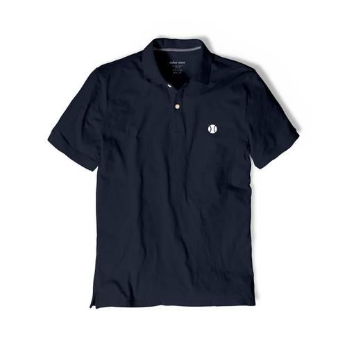 Polo Color Siete Para Hombre Azul - Tenis
