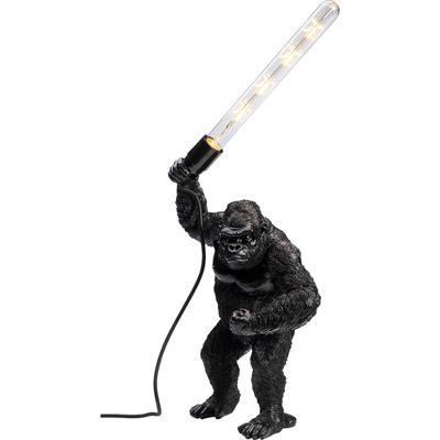 Lámpara mesa Fighting Kong mate negro