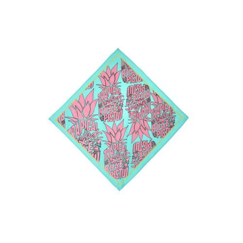 Bandana Estampadas Trapical Minds X Rosé Pistol  - Azul