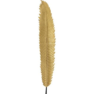 Decoración pared Leaf oro 196cm
