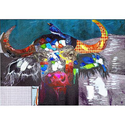 Cuadro Wildlife Buffalo 70x100cm