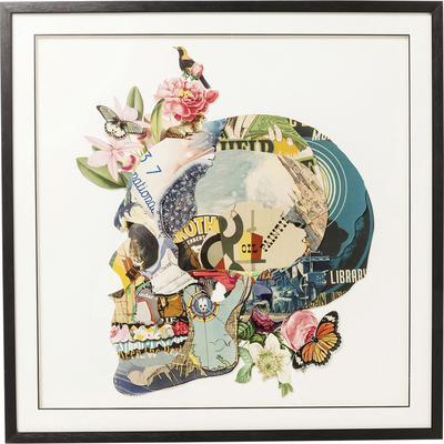 Cuadro Art Skull 100x100cm