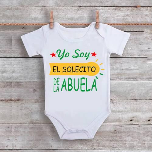 Mameluco Yo Soy El Solecito De Mi Abuela