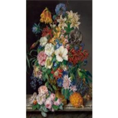 Cuadro cristal Flower Bouquet 100x150cm