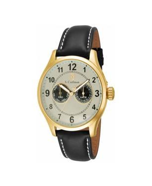Reloj análogo blanco-negro 0316