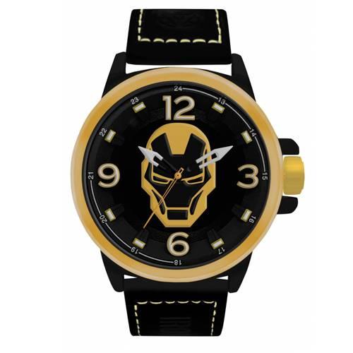 Reloj Análogo Dorado-Negro Umb-Im01-4