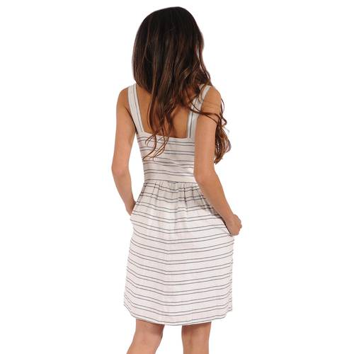Vestido Philippe Color Siete Para Mujer  - Beige