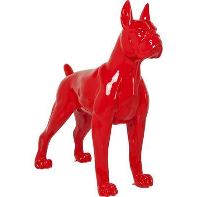 Objeto decorativo Toto XL rojo