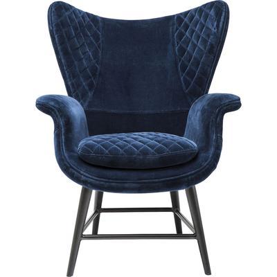 Sillón Tudor Velvet azul