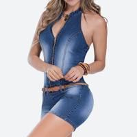 Enterizo Corto 26641 Azul