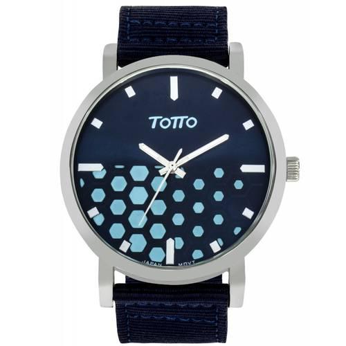 Reloj Plateado/Azul - Tr025-4