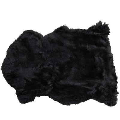 Piel cordero Heidi negro 85x60cm