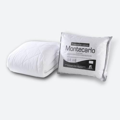 Protector Acolchado (fuelle liso) 200 cm / altura 30 cm - Blanco