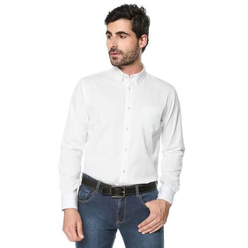 Camisa Wainscott Manga Larga Jack Supplies Para Hombre - Blanco