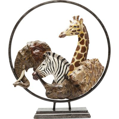 Objeto decorativo Animal Circle 57cm