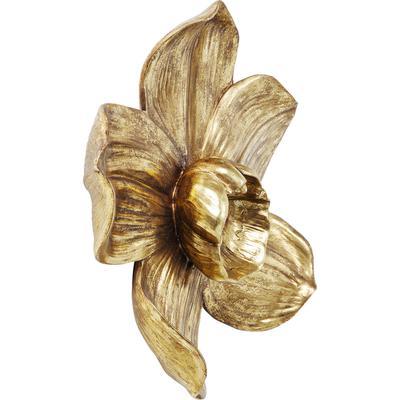 Decoración pared Orchid oro 44cm